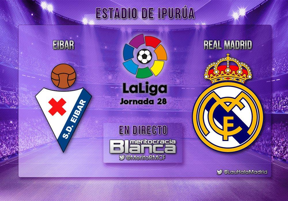 Live Éibar-Real Madrid