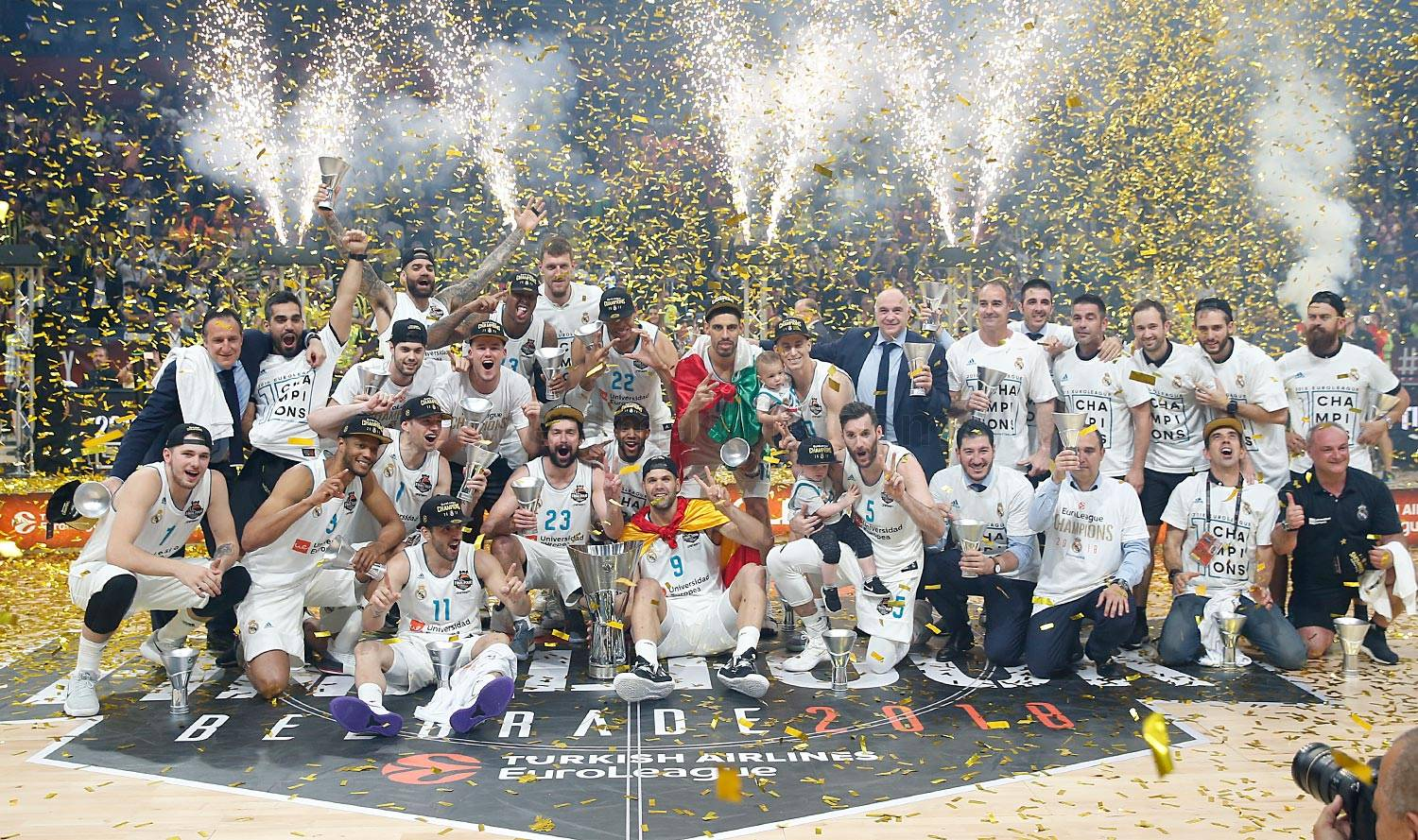 Real Madrid 85-80 Fenerbache