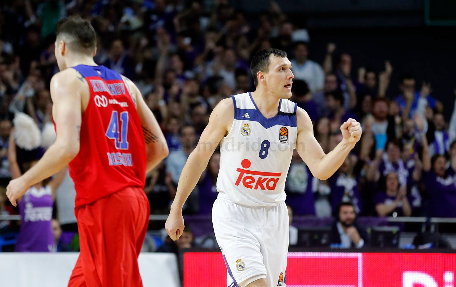 Real Madrid 95-85 CSKA de Moscú