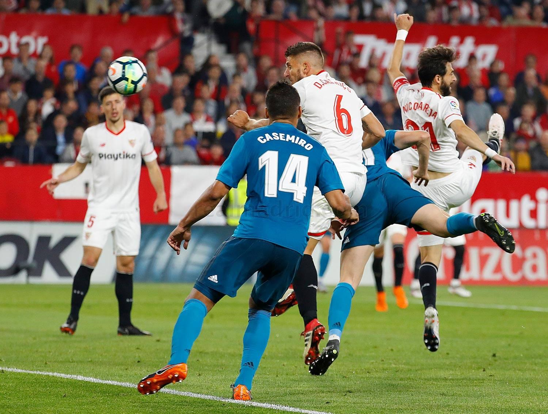 Zona mixta Sevilla 3-2 Real Madrid