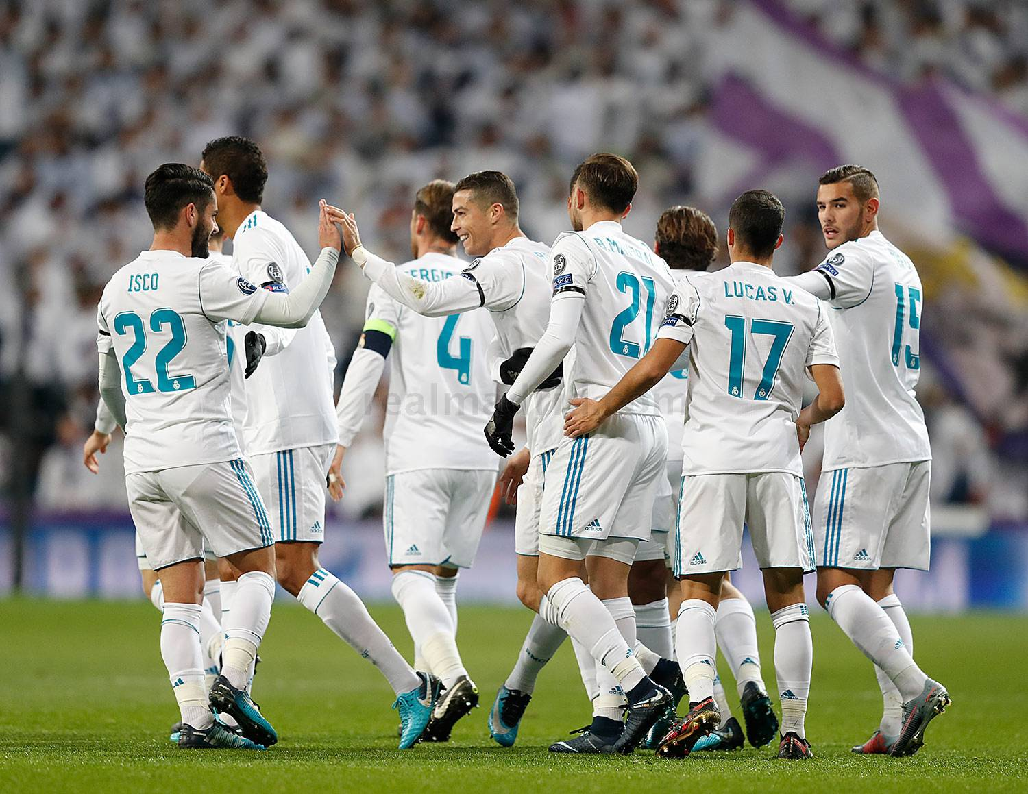 Zona mixta Real Madrid 3-2 Borussia Dortmund