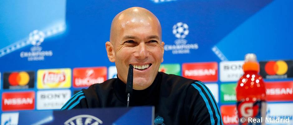 Rueda de prensa de Zidane y Marcelo-Previa ida octavos de Champions