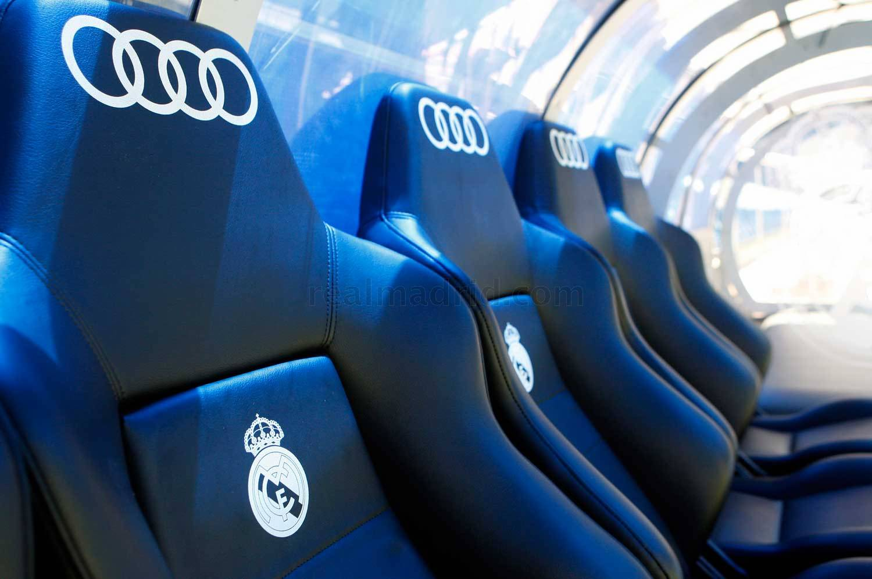 Casting para el banquillo del Bernabéu