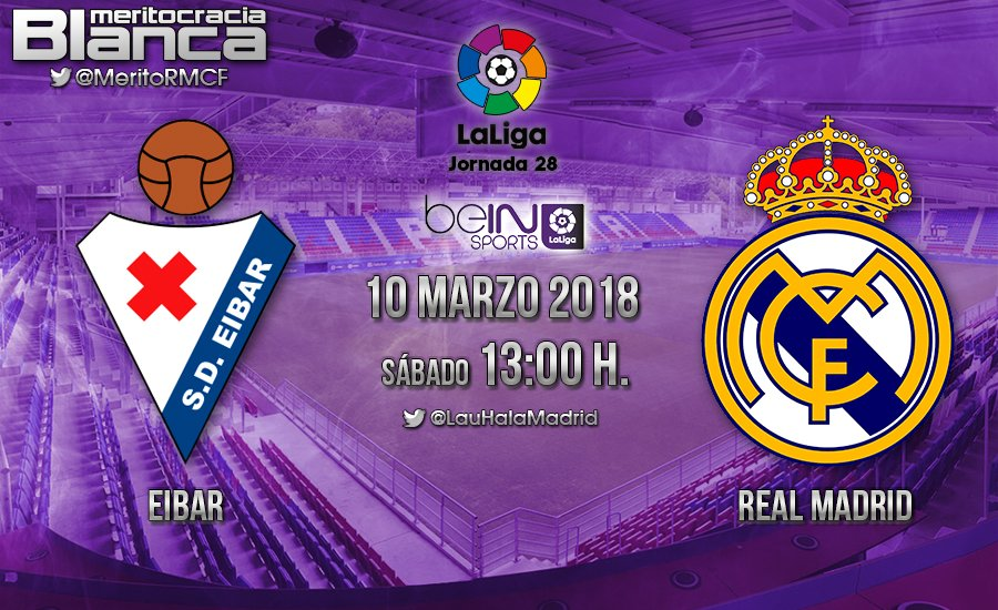 Previa Éibar-Real Madrid