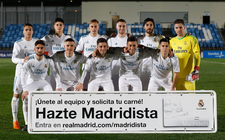 Real Madrid Castilla: 1-1 Unión Adarve