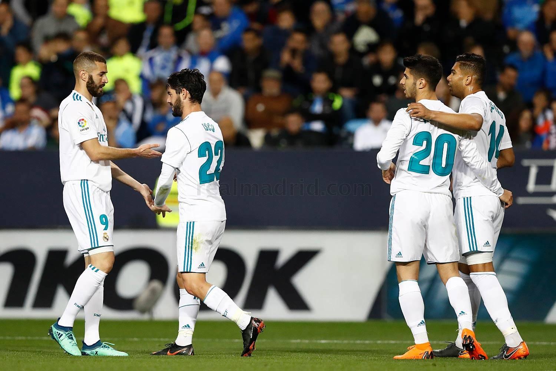 Zona mixta Málaga 1-2 Real Madrid