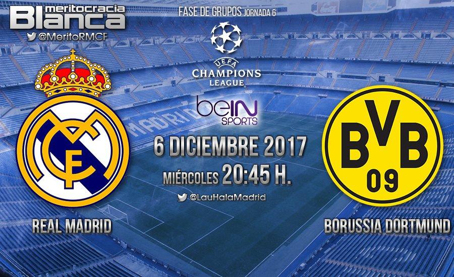 Previa Real Madrid-Borussia Dortmund