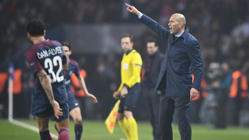 Reconocimiento a Zidane