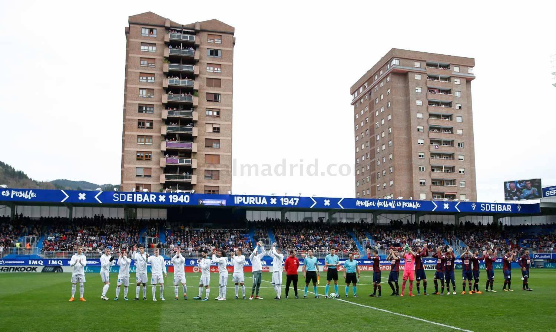 Zona mixta Eibar 1-2 Real Madrid