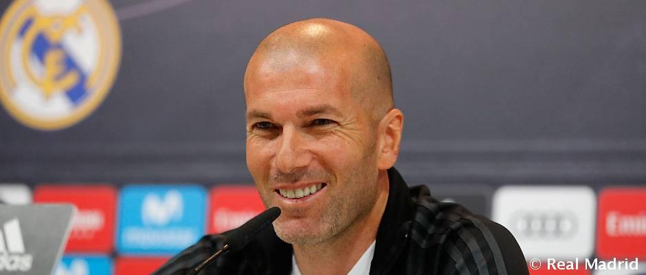 Rueda de prensa de Zidane-Previa jornada 32