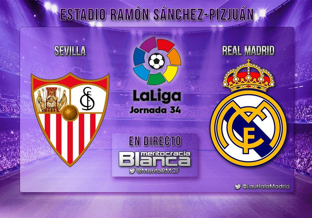 Live Sevilla-Real Madrid