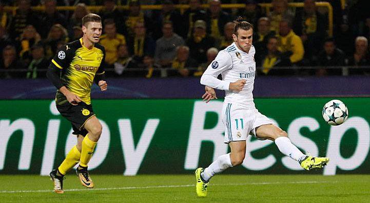 El gol de Bale al Borussia Dortmund