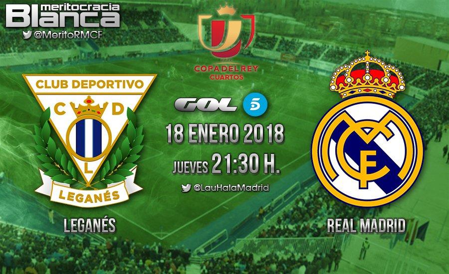 Previa Leganés-Real Madrid | Ida cuartos de final (Copa del Rey ...