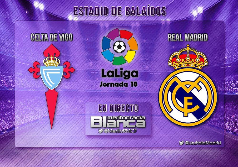 Live Celta de Vigo-Real Madrid