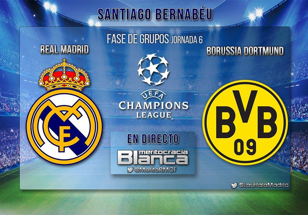 Live Real Madrid-Borussia Dortmund