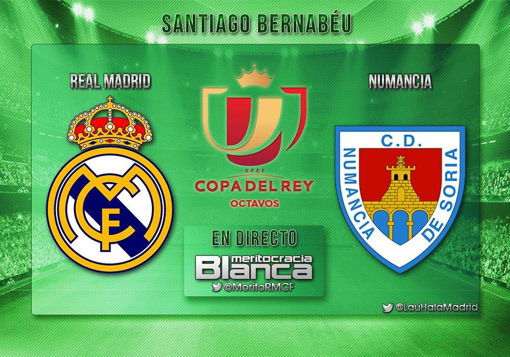 Live Real Madrid-Numancia