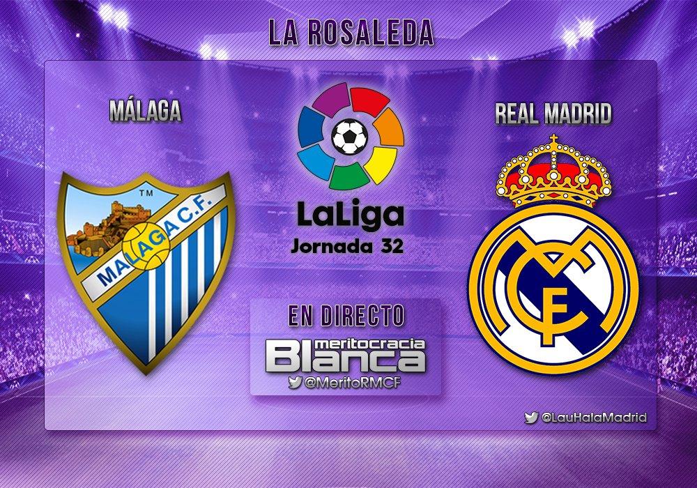 Live Málaga-Real Madrid