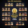 Ocho madridistas en la lista de los 30 finalistas al Balón de Oro 2018